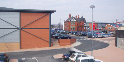 Central Retail Park from Bradley Road