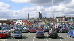 "The ""Asda"" car park"