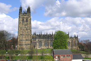 St Giles Church Wrexham