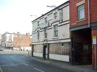 The derelict Kings Arms pub